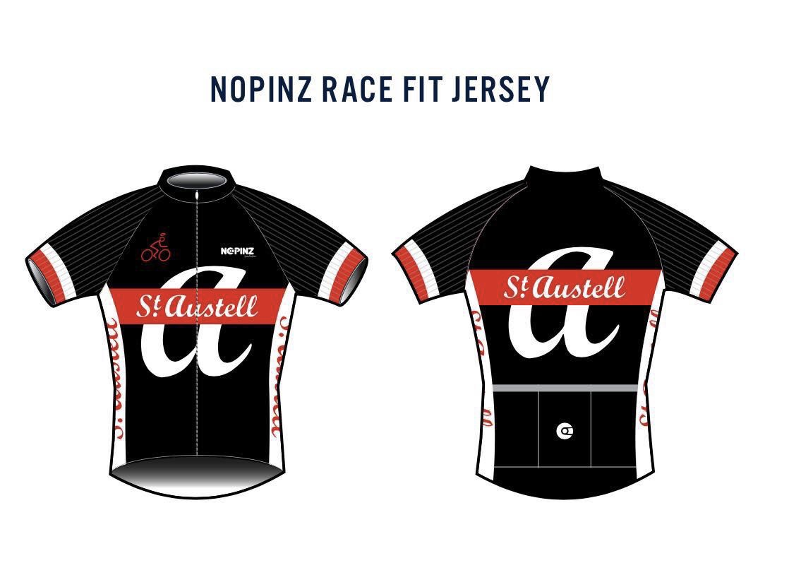 NoPinz Race Fit Jersey (Short-sleeved)